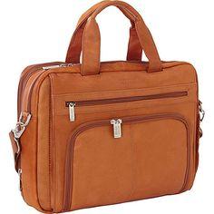 Amazon.com: Kenneth Cole Reaction Colombian Leather Laptop Portfolio - EXCLUSIVE - Tan (3): Clothing