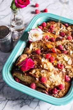 Raspberry Rose French Toast | halfbakedharvest.com @hbharvest