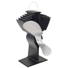 The Amazing Quality Caframo Ecofan Airmax Heat Powered Stove Fan - Nickel Blade Fireplace Fan, Linear Fireplace, Fireplace Tool Set, Fireplace Inserts, Fireplace Mantels, Gas Fireplaces, Electric Fireplaces, Fireplace Screens, Outdoor Fireplaces
