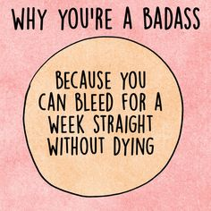 Why you're a badass...