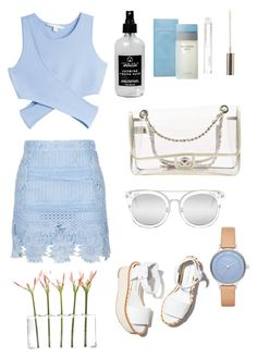 """""""Clear 💧"""" by glamjournal ❤ liked on Polyvore featuring Jonathan Simkhai, Topshop, Paloma Barceló, Chanel, Little Barn Apothecary, Quay, Boohoo, Dot & Bo, Skagen and Dolce&Gabbana"""