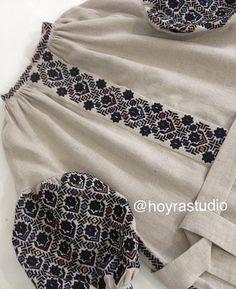 Fashion Wear, Mens Fashion, Ukrainian Dress, Embroidery Neck Designs, Sleeves Designs For Dresses, Cross Stitch Kitchen, Cross Stitch Borders, Santa Clara, Vintage Outfits