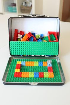 Lego Activities for kids of all ages! Kids will enjoy doing Lego crafts, making DIY Lego projects, building with Lego books, and so much more! Projects For Kids, Diy For Kids, Crafts For Kids, Fun Toys For Kids, Travel Toys For Toddlers, Baby Diy Projects, Lego For Kids, Easy Projects, Toddler Activities