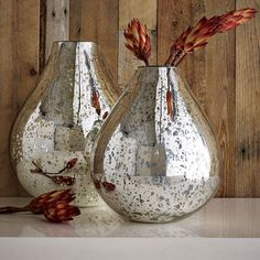 Mercury vases.....just love them by themselves