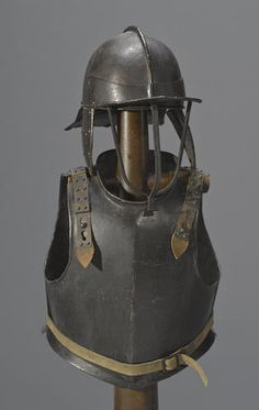 An English Civil War-era horseman's armor 17th century