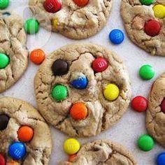 Robbis M&M Cookies @ de.allrecipes.com