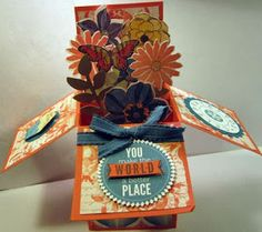 Crafty Maria's Stamping World: Pop Up Box Card