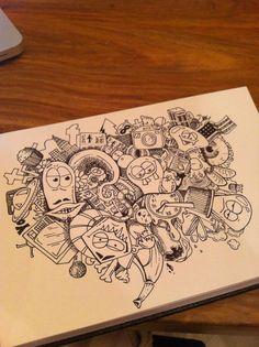 """Leroy Sanchez - Boceto De """"Una Ciudad en mi cabeza"""" de Antes Editar"""