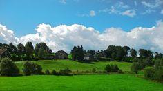 A beautiful sky, Bullingen, Belgium, 2011