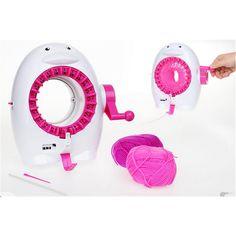 Kids Knitting Machine Toy DIY Craft Educational
