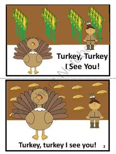 Thanksgiving Reader from FunTeach on TeachersNotebook.com -  (8 pages)  - Your students will love this reader and read it over and over again.