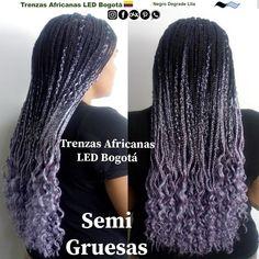 #trenzasafricanasledbogota @trenzasafricanasledbogota #trenzas_africanas_led @trenzas_africanas_led #trenzasafricanasenbogota @trenzasafricanasenbogota @trenzasafricanassoacha #trenzasafricanassoacha @trenzasafricanascundinamarca #trenzasafricanascundinamarca Leg Warmers, Lilac, Dreadlocks, Led, Hair Styles, Beauty, Fashion, Two Tones, Tree Braids