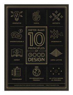 ten principles of good design / dieter rams