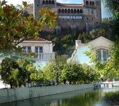 Leiria - Castelo e Rio Lis