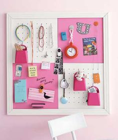 Kid's Room Pegboard....can make this really inexpensive