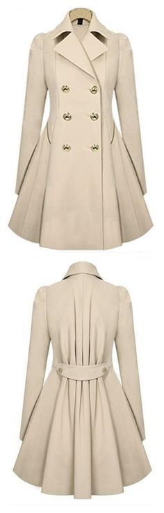 mantel-Trends Das sind die Must-haves Take a look at the best winter coats 2018 in the photos below and get ideas for your outfits! Mode Ab 50, Fall Outfits, Cute Outfits, Look Fashion, Womens Fashion, Dress Fashion, Cute Coats, Mode Style, Autumn Winter Fashion