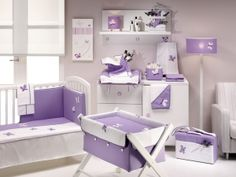 lavender bedroom decor | purple butterfly kids bedroom decor | 2013 AllHomeDecors.com