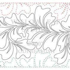 Willow Leaf Studio - FEATHERED LEAF | Digital Version, $15.00 (http://www.willowleafstudio.com/feathered-leaf-digital/)