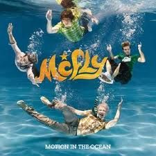 McFly Motion in the Ocean-There songs are usually so upbeat and lively :) The Ocean, Matt Willis, Easy French Twist, Tom Fletcher, Kaiser Chiefs, Cool Album Covers, Music Covers, Batman, Teen