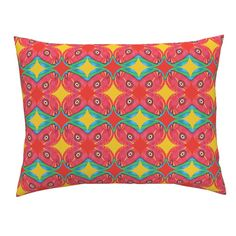 Campine Pillow Sham featuring Popbello by joancaronil | Roostery Home Decor
