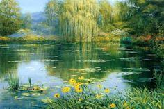 Peter Ellenshaw, born  William Samuel Cook  (1913-2007)  —   (960×640)
