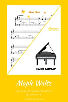 Traditional waltzing rhythm and beautiful melody - elementary piece for young piano learners Heroes Book, How Did It Go, Learning Objectives, Music Library, Teaching Music, Music Education, Super Powers, Piano, Sheet Music