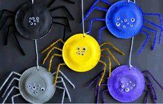 okul öncesi örümcek sanat etkinliği,anasınıfı plastik tabak etkinliği,örümcek sanat faaliyetleri örümcek sanat etkinliği okul öncesi şönil etkinlikleri plastik tabak etkinlikleri
