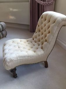 Victorian-Antique-Deep-Buttoned-Nursing-Chair Nursing Chair, Antique Chairs, Armchairs, Slipper, Victorian, Couch, Deep, Interiors, The Originals