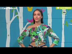 Blusa medio beso - Hecho con Estilo - YouTube Sewing Patterns, Women Wear, Sari, Make It Yourself, Youtube, Fashion, Vestidos, Amor, Blouse Styles