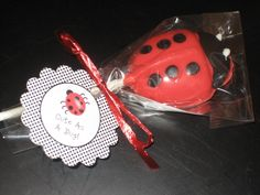 Ladybug Lollipops, Set of 12. $18.00, via Etsy.
