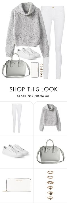 """""""Sem título #4944"""" by fashionnfacts ❤ liked on Polyvore featuring Frame, Dolce&Gabbana, Givenchy, Marc Jacobs and Forever 21"""