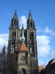 Gothic Meissen Cathedral, Meissen,Germany