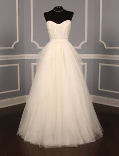 Reem Acra Eternity Discount Designer Wedding Dress