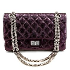 "CHANEL REISSUE FLAP PURPLE METALLIC 4599 9.5"" x 9"" x 3"" 20""/ 11"" May 15, 2014 - Charles Rogers - Picasa Web Albums"