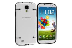 Transparent 4-dot Pattern Dual shot Hybrid Protector Cases for Samsung Galaxy S4 | Lagoo Tech