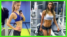 Estar delgada o estar en forma? Bikinis, Swimwear, Sporty, Fitness, Style, Fashion, Shapes, Health, Sports