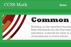 A great collection of k-12 Common Core resources created by teachers for teachers.