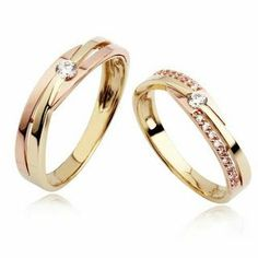 Couple Rings Gold, Engagement Rings Couple, Designer Engagement Rings, Gold Ring Designs, Wedding Ring Designs, Couple Ring Design, Gold Rings Jewelry, Ring Set, Antique Rings