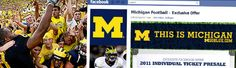 Great example of a successful facebook campaign that generated ticket sales http://buzz.paciolan.com/2011/08/michigan-football-scores-big-money-with-facebook/#  To find the balance between sales and engagement, they created a single ticket presale only for Facebook fans. This made the offer feel exclusive, so that fans felt they were getting added value for being a Michigan Football fan.  They are also a good example of a visually engaging facebook site…