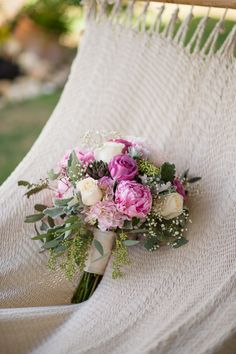Gorgeous bridal bouquet!!!!!  Lovely Destination Wedding by the Sea Side at Peñuelas, Puerto Rico