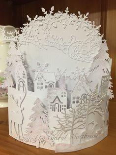 Die Cut Christmas Cards, Christmas Ideas, Embossing Folder, Wonderful Time, Daughters, Card Ideas, Sisters, Halloween, Board