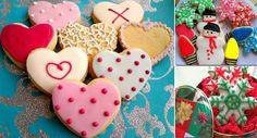 Veja nesta matéria uma seleção de receitas deliciosas de bolachas decoradas para o Natal