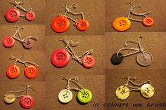 buttons bicycle to wear as a pendant or to hang it to your stuff, as key rings or small bags :)