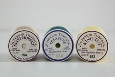 Thread Labels:  What they're really telling you! #cotton #polyester #superiorblog