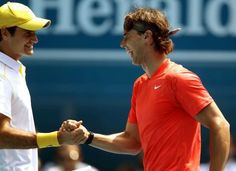 Rivalry at its best- Nadal & Federer