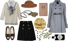 """night sky"" by calivintage ❤ liked on Polyvore"