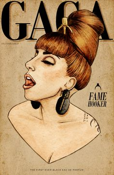 Gaga FAME Hooker