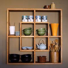 I think I finally found the tea shelf I want my Dad to make me...