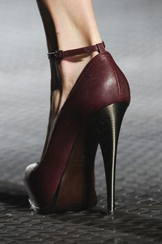 fashioninquality:    Shoe Porn at Lanvin Spring Summer 2013 | PFW