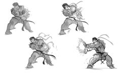 Ryu Sketches  ★    CHARACTER DESIGN REFERENCES (https://www.facebook.com/CharacterDesignReferences & https://www.pinterest.com/characterdesigh) • Love Character Design? Join the Character Design Challenge (link→ https://www.facebook.com/groups/CharacterDesignChallenge) Share your unique vision of a theme, promote your art in a community of over 25.000 artists!    ★